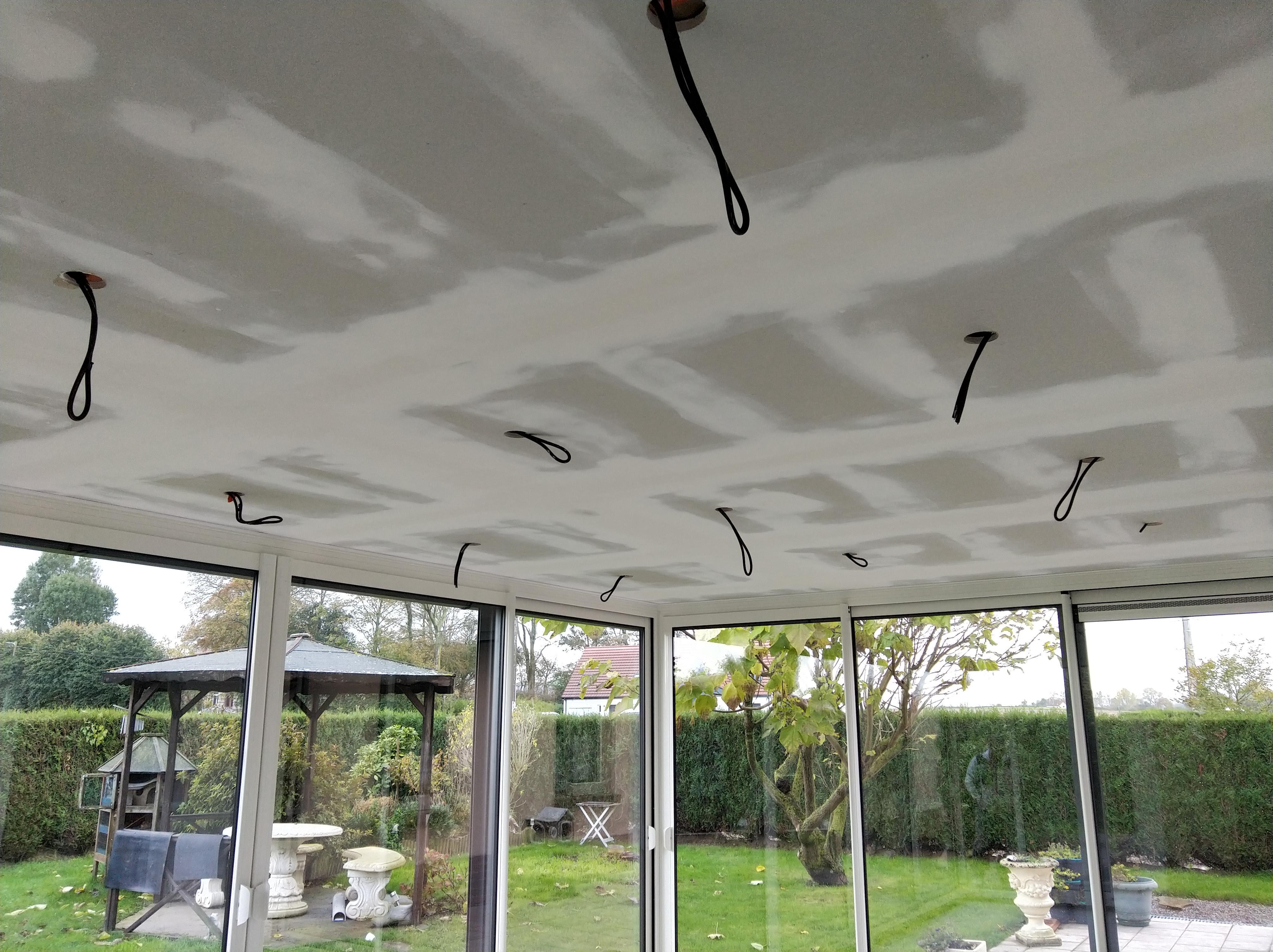plafond véranda
